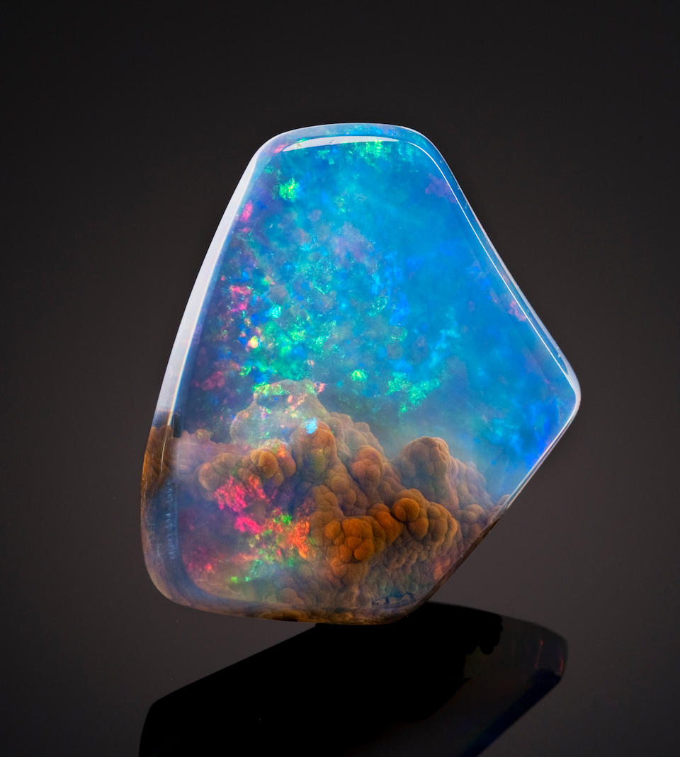 Opal, The cosmos within a stone.