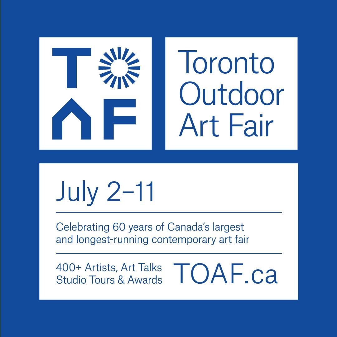 The Toronto Outdoor Art Fair is on!